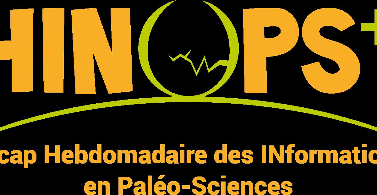 C'est image est le logo du Récap Hebodomadaire des INformations en Paléoscience de PALEOPOLIS