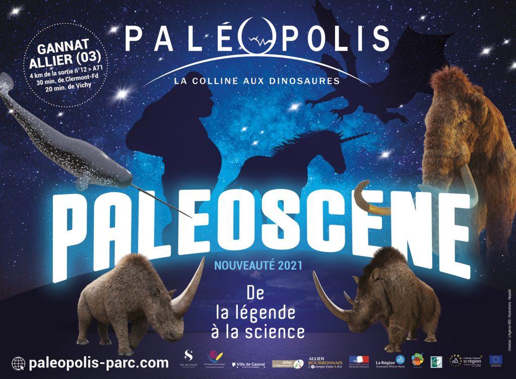 Nouvelle animation 2021 du parc PALEOPOLIS