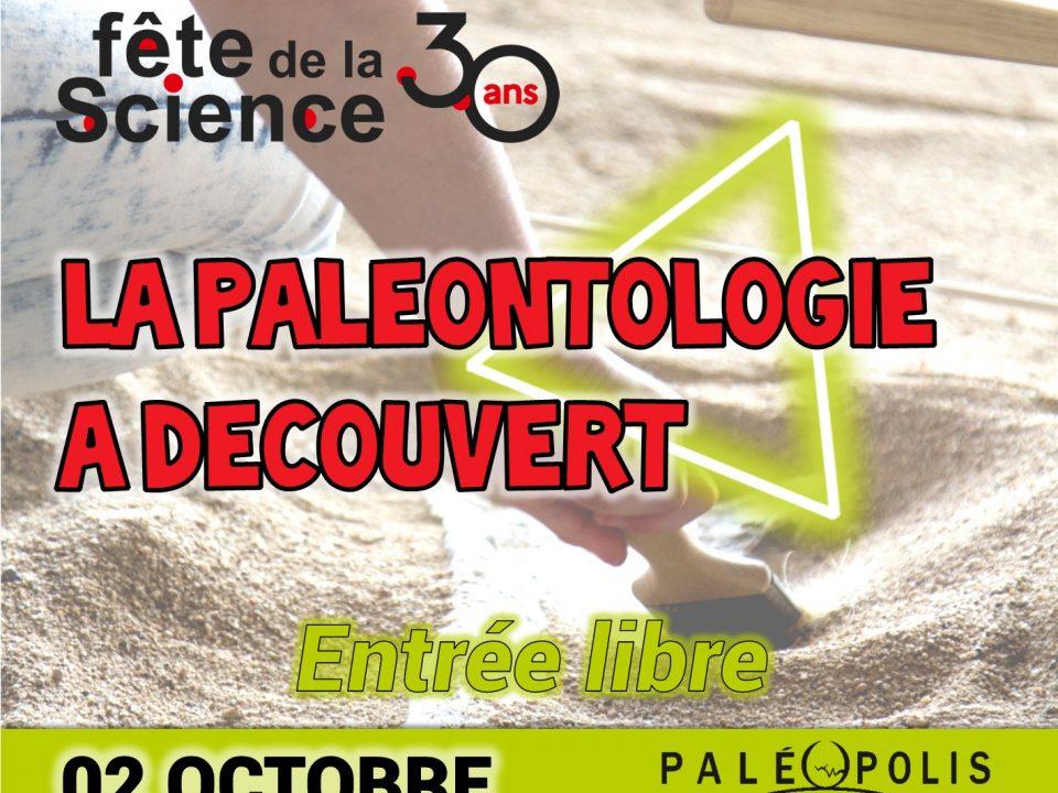 Paléopolis la colline auc dinosaures fête la science 2021